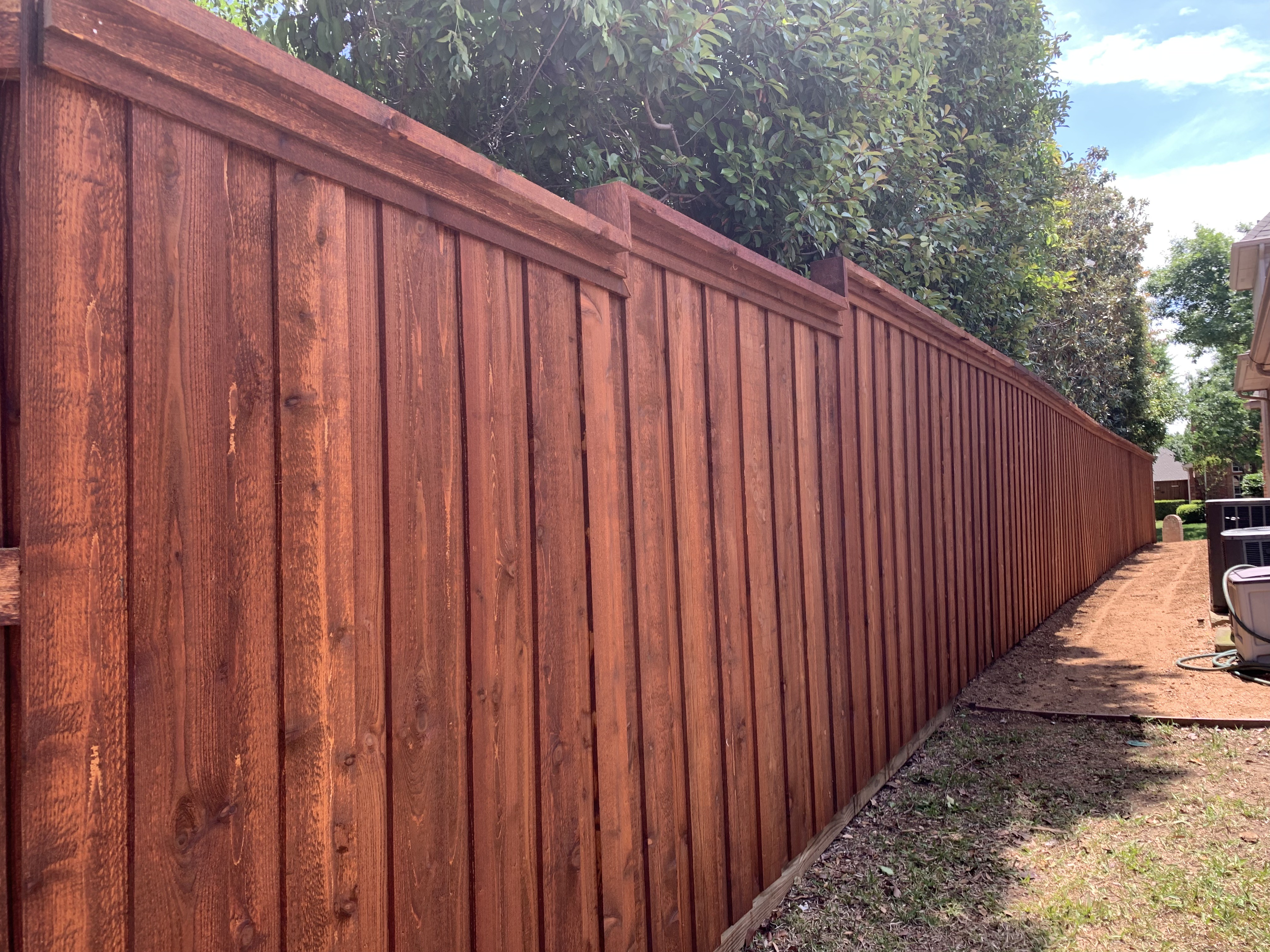REDWOOD-fence-stain